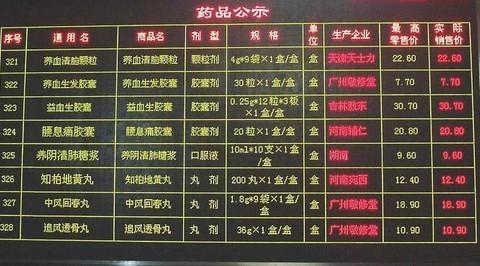 青海省贵德县人民医院LED室内双色电子显示屏