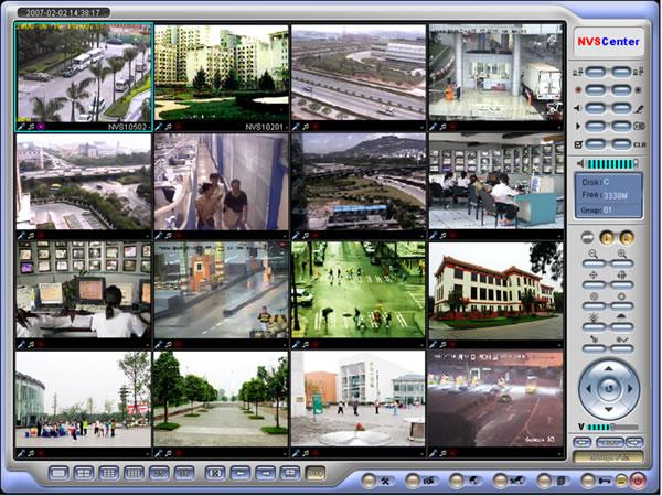 新万博官网第六十六中学安防监控系统